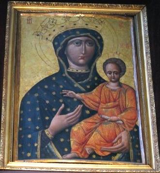 Obraz Matki Boskiej Zwycięskiej Z Lwowa Obecnie W Kościele