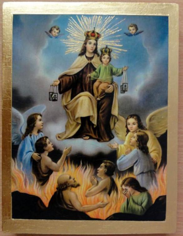 Matka Boża Szkaplerzna Wierze Ufam Miłuję