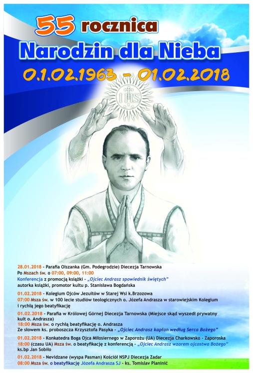 plakat Andrasz 55 rocznica