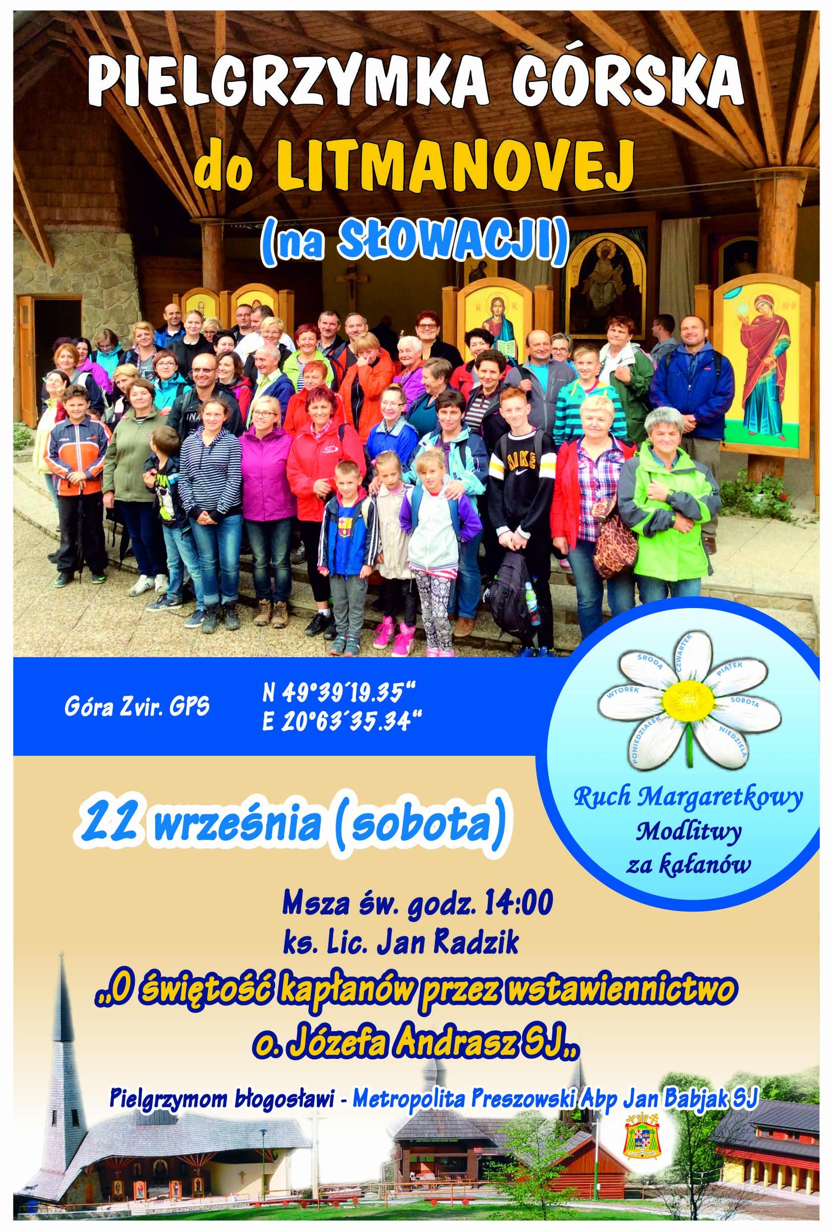 Plakat pielgrzymkowy Sadeczanin